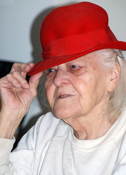Anna-Brita Eriksson, Inez mamma