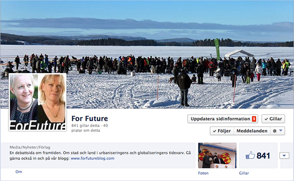 For future Facebook
